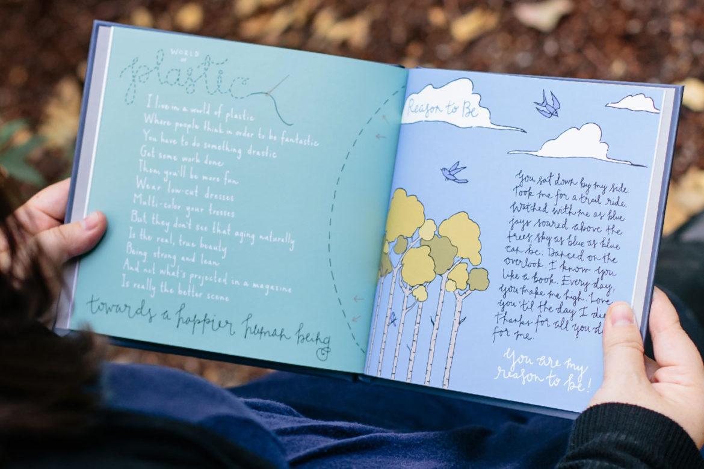 sage words illustrated poetry sage spirit poetry book jet widick hand-lettered illustrations kimberly taylor-pestell creative direction kristen alden
