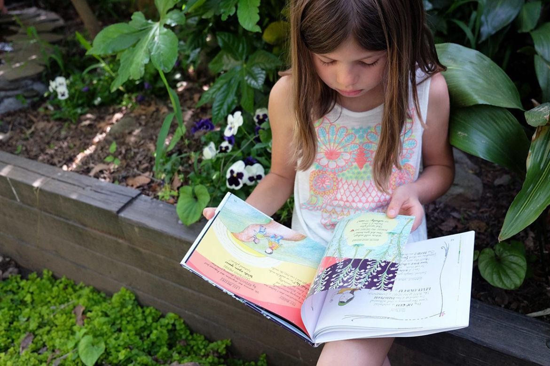 white wild indigo illustrated poetry childrens picture book annie moor jet widick
