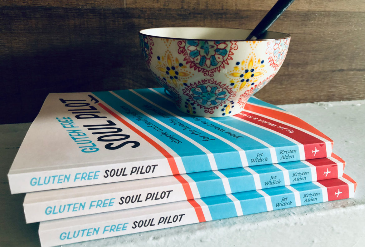 holiday self-care book giveaway goodreads gluten free soul pilot kristen alden jet widick