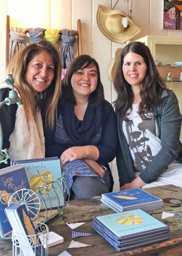 belle's nest sierra madre illustrated poetry book signing jet widick kristen alden kimberly taylor-pestell