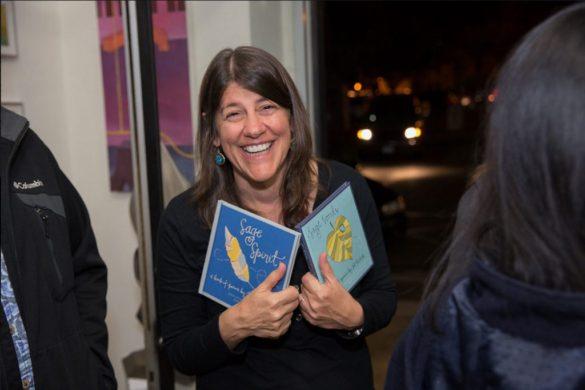 sage spirit book launch illustrated poetry author jet widick