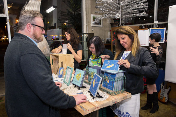 sage spirit launch party illustrated poetry book by jet widick kristen alden kimberly taylor-pestell