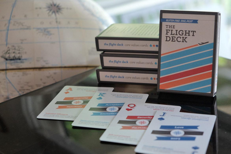 flight deck personal core values cards lasting wellness